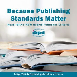 Publishing standards matter graphic from the IBPA.