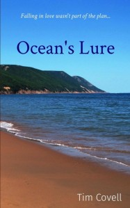 Cover image for Ocean's Lure by Tim Covell. Photo of a Cape Breton beach.